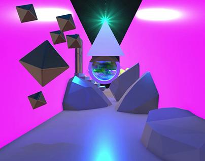 Trippy Tunnel 360 Video Test - Tvori