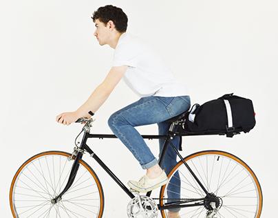 ARKEL - porte-bagages et sac-à-dos convertible