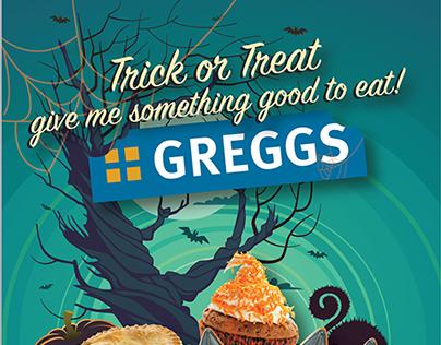 Greggs Halloween Campaign (concept)