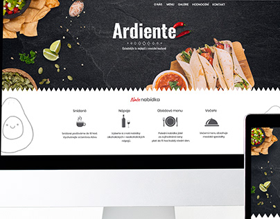 Webdesign mexican restaurant