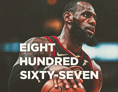 2017-18 Cleveland Cavaliers Player Achievement Graphics