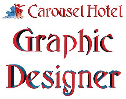 Carousel Hotel Graphic Design/Marketing