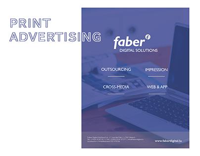 Faber Digital Solutions | Print Advertising