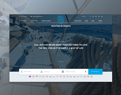 Search, Compare & Rent Yachts | Website