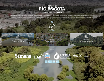 Site: The rebirth of the Bogotá River, an effort of all