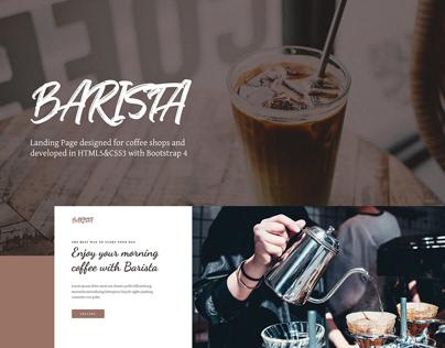 Barista - Coffee Shop Website