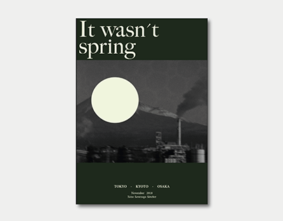 "Photobook Japan ""It wasn't spring"""
