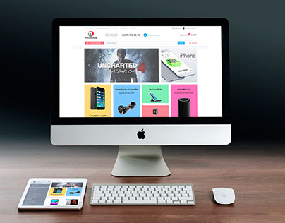 Tehnikalux e-shop responsive web design