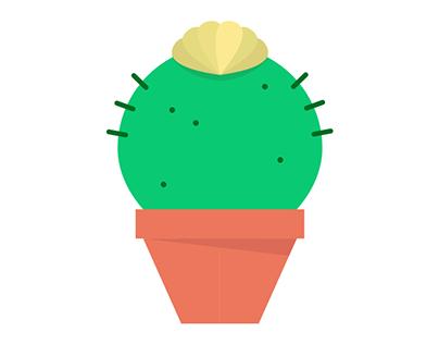 Carnivorous love Cactus - Illustration