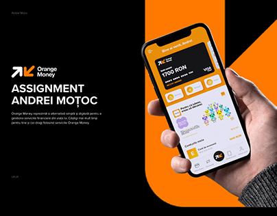 Orange Money Concept