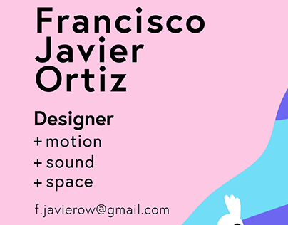 Animated Business Card