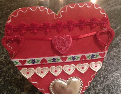 A Handmade St. Valentine's Card