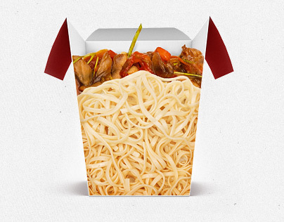 Website for ordering noodles in the box