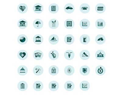 WPR Wealth Icons