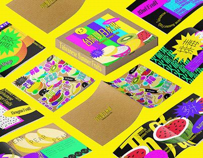Visual Design|台灣夏日水果 Taiwanese Summer Fruits