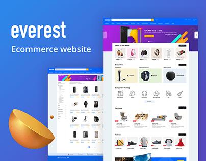 Everest - E-commerce Website Design