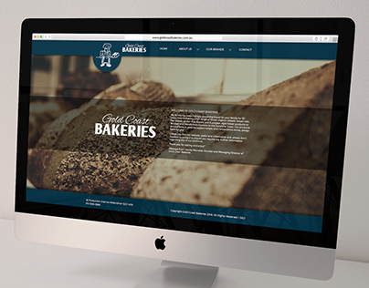 Website Redesign: Gold Coast Bakeries