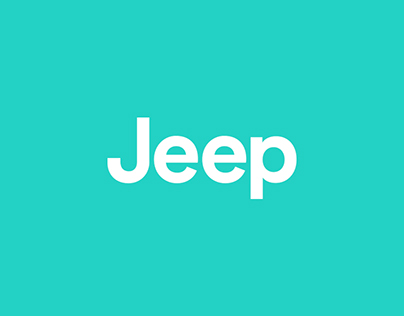 Jeep Visual Identity Concept Redesign