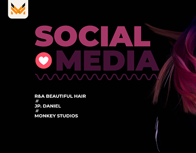 Social Media | Salão de Beleza | R&A Beautiful Hair