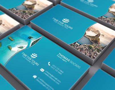 Travel Business Card Design