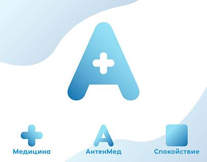 """Вариант логотипа для компании ООО """"АнтенМед"""""""
