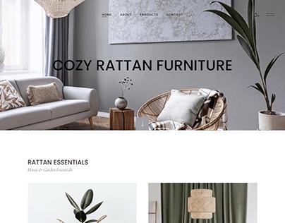 Furniture Business WordPress Website