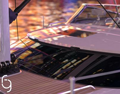 Hylas H57 Newport Boat Show 2021 winner.