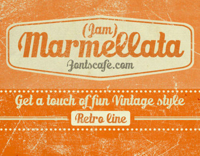 """Marmellata (Jam) Pack"" fonts"