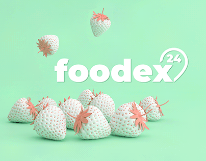 Design & photo content for delivery service Foodex24