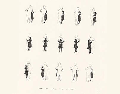 how to dance with a ghost