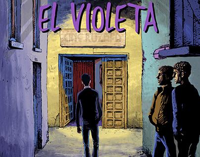EL VIOLETA. A GRAPHIC NOVEL