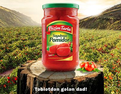 Poster Design | Bizim tarla | Tomato | concept