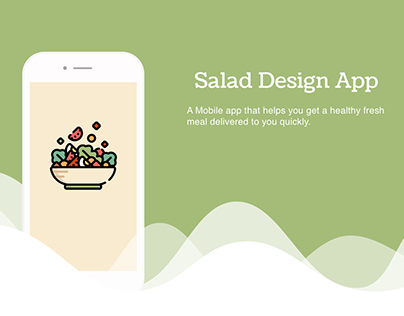 Salad Design App