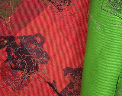 Design for Jacquard Woven Fabrics