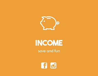 INCOME promo app