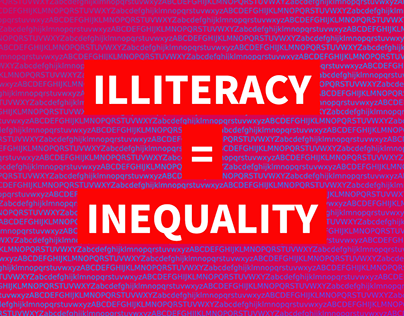 Illiteracy = Inequality