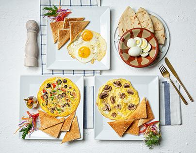 Mandarine Koueider - Breakfast Menu