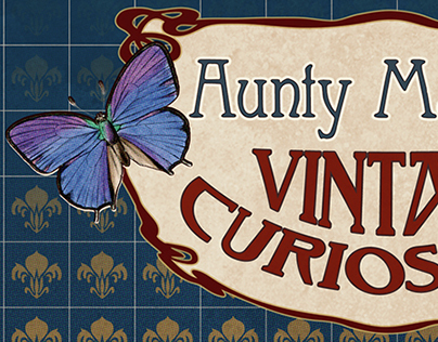 Aunty Maude's Etsy Store Banner