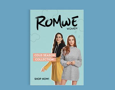 Romwe Sample Catalog