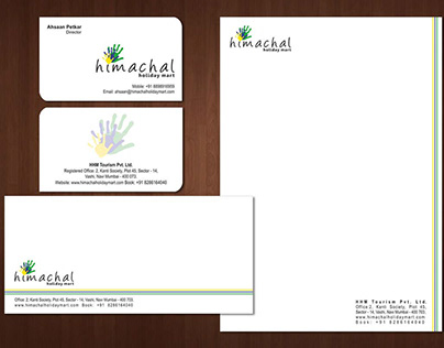 # business card, letterhead & envelope design