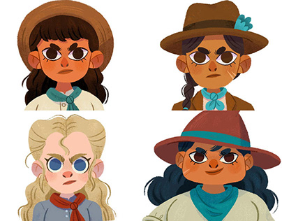Character design: Cowgirl