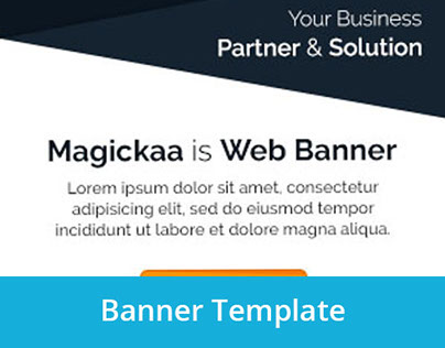 30Fish - Magickaa Corporate Banner