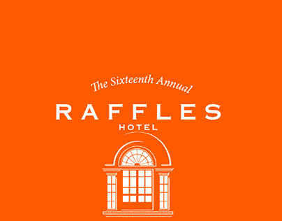 Raffles Hotel booklet