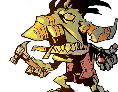 Goblins Never Die STICKERS