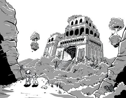 Reliquest (12 Page Comic) Black & White