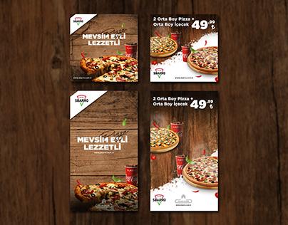 Sbarro Pizza | Social Media Post
