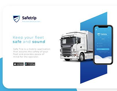 Safetrip brand and UI