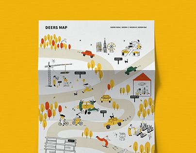 DEERS | Brand Illustration