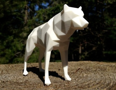 Low Poly 3D Printing // Raincoast Foundation