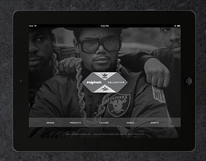 adidas Originals Collective iPad app